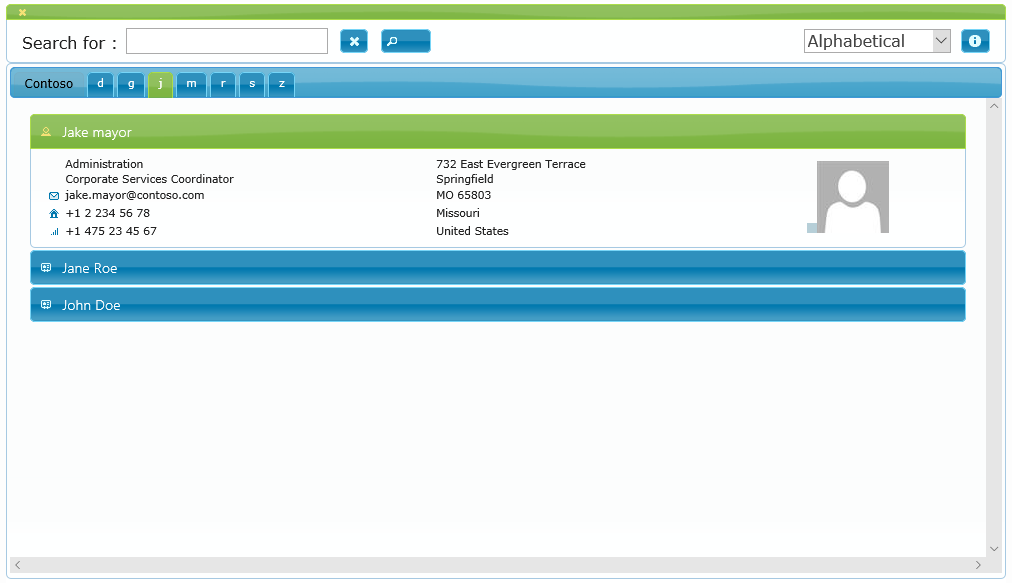 Active Directory Address Book Sample 2