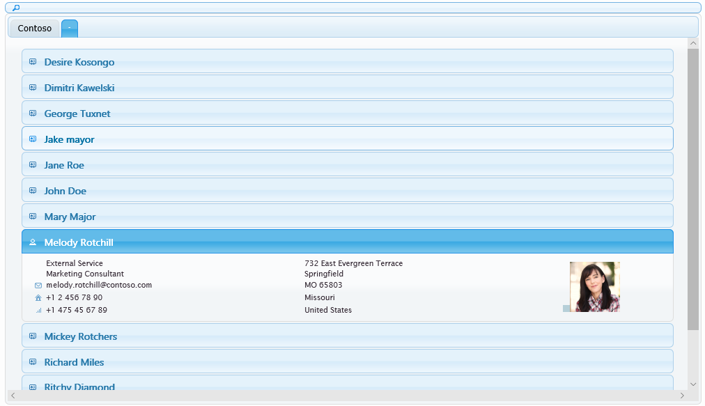 Active Directory Address Book Sample 3